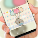 Cute cat Kitty keyboard by Jubee Theme Studio