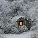 Snow Cabin Live Wallpaper by dk77