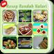 Resep Rendah Kalori LENGKAP by ajetdev