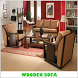 Wooden Sofa Set Furniture Design by acewhite