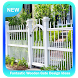 Fantastic Wooden Gate Design Ideas by Hector Apps