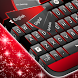Black Red Keyboard by T-Me Themes