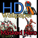 HD Wallpaper Masked Heroes by muvenk