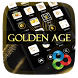 Golden Age GO Launcher Theme by Freedom Design
