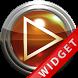 Poweramp Widget Orange Glas by Maystarwerk Skins & Widgets Vol.1