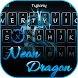 Neon Dragon Theme&Emoji Keyboard by Fun Emoji Theme Creator