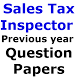 Sales Tax Inspector Q Papers by TeamVR