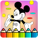 How To Color Mickey Mouse -Free Coloring For Kids- by ProApps91
