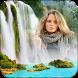 Waterfall Photo Frame : Rain Photo Frame Editor by PhotoLab Studio