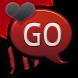 GO SMS THEME/RedZebra2 by CPKDesigns
