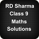 RD Sharma Class 9 Maths Solutions by Apps4India