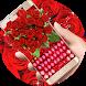 Red roses petal Keyboard