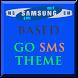 Samsung Theme Go SMS Pro by OneDzines