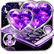 Purple Diamond Heart Theme