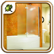Frosted Glass Shower Doors by Nasal Goo