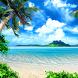 tropical beach live wallpaper by best wallpaper inc