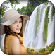 Waterfall Photo Frame by Global Techlab