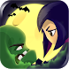 Girl vs Zombie Run Game by Apps4Everyone