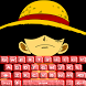 Pirate Luffy Keyboard Emoji by arsan_DEV