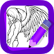 Learn How to Draw Angel Wings by The Art Brain