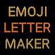 Emoji Letter Maker by Kingstar Studio