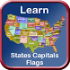 States Capitals Flags Learn US by DigiGalaxy.net