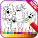 Coloring Book for Five Nights by Best Coloring Book New Game Free