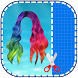 Mermaid Pastel Hair Salon Photo Montage Editor App by Cool Photo Editor Apps