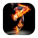Dancer in fire live wallpaper by Fairyfire