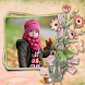Flowers Photo Frames Landscape by Photophy