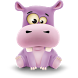 Happy Hippo Pro Live Wallpaper by Vinisoft, s.r.o.