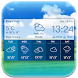 Local simple Weather Forecast widget&alerts