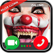 Video Call from Scary Killer Clown live 2018