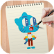 Learn to Draw Gumball by DrawAnime