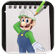 How to Draw Super Mario Advanced by veronicalabs