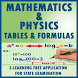 TABLES AND FORMULAS FOR MATHS AND PHYSICS by ALIEN SOFTWARE