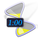 """Auto-Minute"" Timer Widget by o172.net"