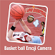 New HD Basketball Emojis Stickers Camera For Edit