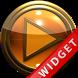 Poweramp Widget Orange Gold by Maystarwerk Skins & Widgets Vol.1
