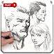 آموزش طراحی چهره by aria molando
