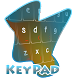 Clean and Sharp Keypad Cover by Alpha Themes