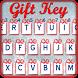 Santa Gift Christmas Keyboard by Emoji Fun World
