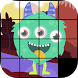 Slide Puzzle - Monsters by Wonder Games