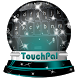Silent nights TouchPal Theme by Keyboard Emoji Themes