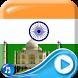3D Indian Flag Live Wallpaper by Clock Live Wallpaper