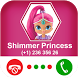 Calling Shimmer Princess - Charmed Princess by Coloring and Call Apps