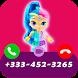Call From Shimmer Shine Princesses by Callvio Studio