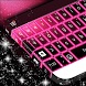 Pink Neon Keyboard Theme 2018 by Themes World