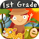 Animal Math First Grade Math Games for 1st Grade by Eggroll Games
