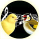 Singing Canary Goldfinch Train